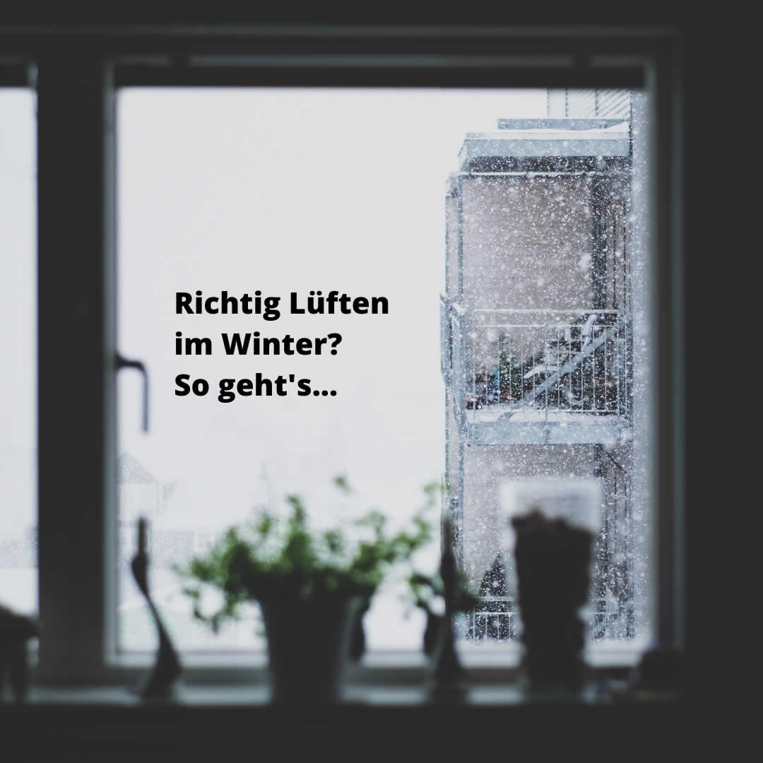 Fenster mit Schnee
