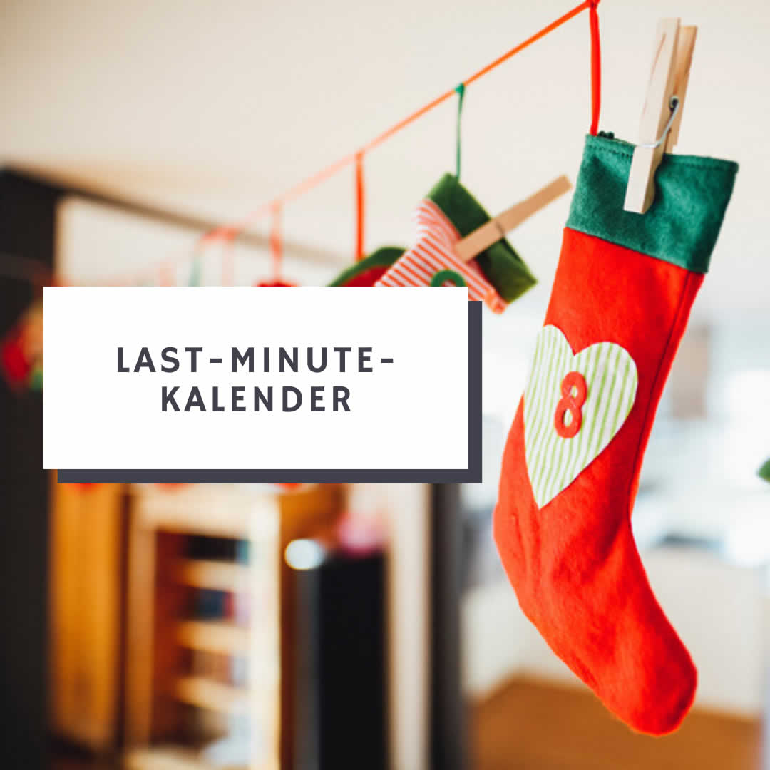 Last Minute Adventskalender